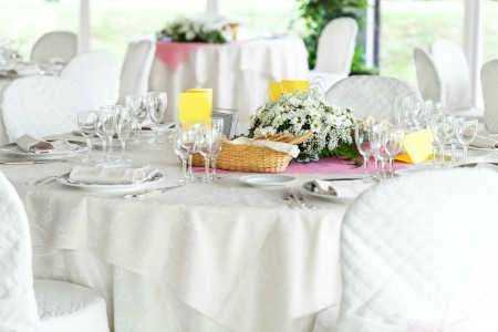 Table linen laundry